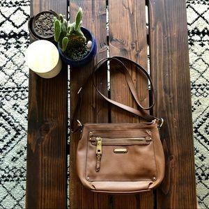 「Dana Buchman」Vegan Leather Crossbody